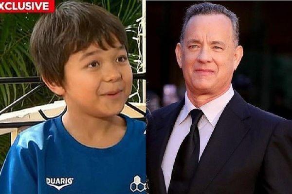 Cậu bé bị bắt nạt vì có tên Corona được Tom Hanks tặng máy đánh chữ
