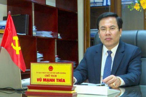 Thái Bình điều chuyển một lãnh đạo huyện có vợ bị bắt vì liên quan đến Đường 'Nhuệ'
