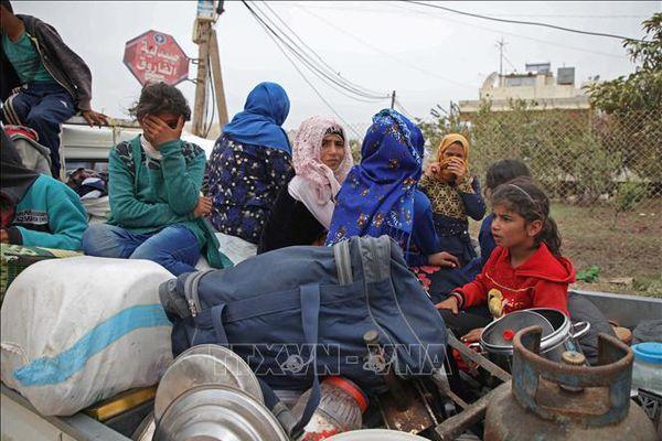 Số người phải đi lánh nạn trong nước do xung đột và thiên tai tăng cao kỷ lục trên thế giới