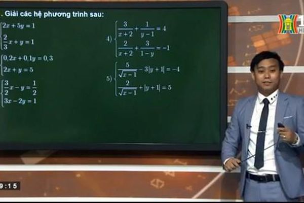 Hà Nội vẫn duy trì dạy học trên truyền hình