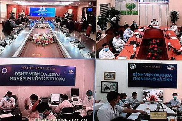 Thêm 2 bệnh viện tham gia khám, chữa bệnh từ xa cùng BV Đại Học Y Hà Nội