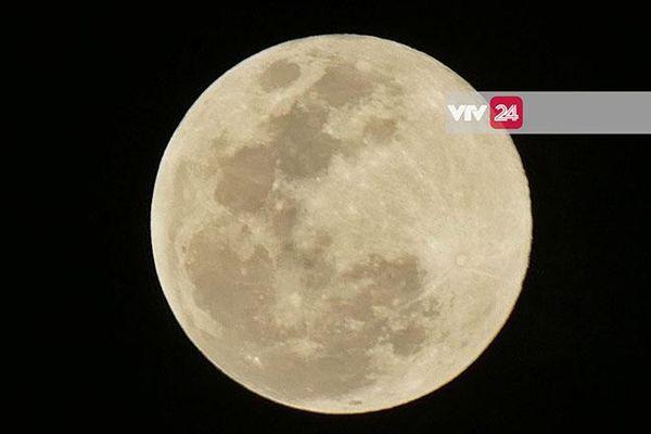 Chiêm ngưỡng 'Siêu trăng hoa' đẹp nhất năm 2020