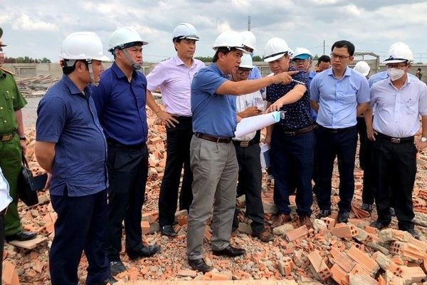 Latest information about wall collapse killed 10 people in Dong Nai