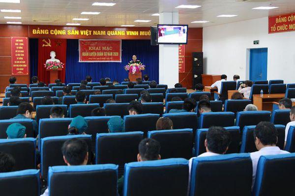 Khai mạc huấn luyện Cụm tự vệ số 1, Ban CHQS TX Đông Triều