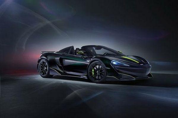 Siêu xe thể thao McLaren lấy cảm hứng từ nhện độc