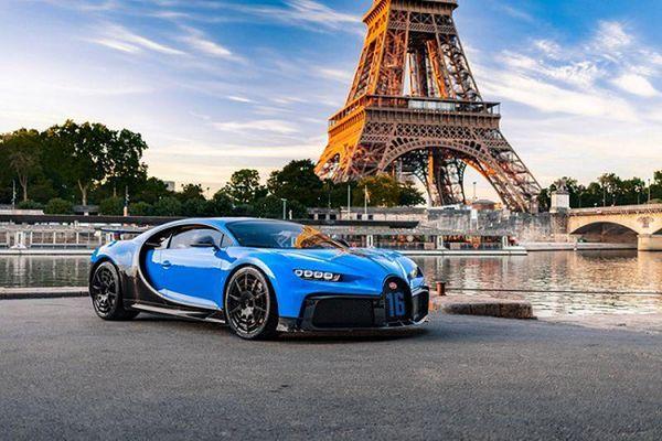 Siêu xe Bugatti Chiron Pur Sport sẽ 'lưu diễn' khắp châu Âu