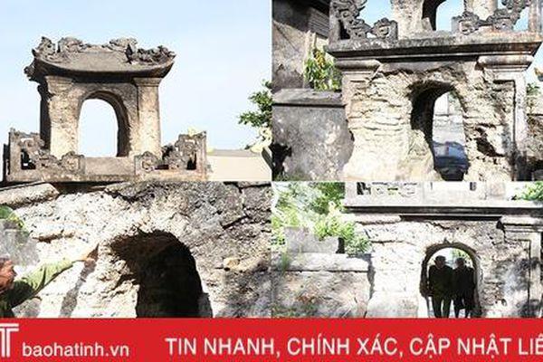 Di tích 700 năm tuổi ở Hà Tĩnh xuống cấp