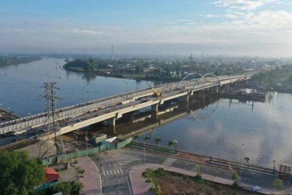 Long An: thông xe cầu Tân An và 5 cầu trên Quốc lộ N1