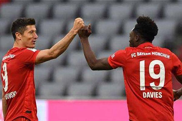 Hành trình lên ngôi vô địch Bundesliga của Bayern