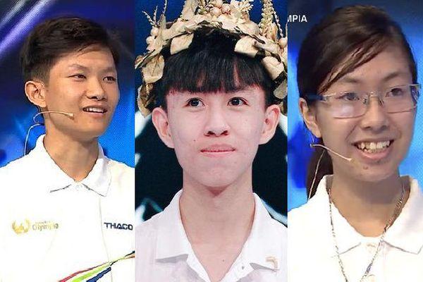 Lộ diện 3 thí sinh góp mặt ở chung kết Đường lên đỉnh Olympia năm thứ 20
