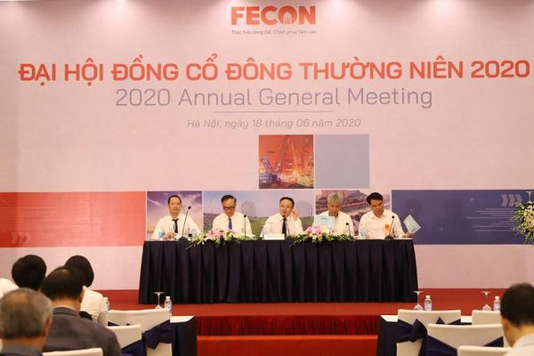 Năm 2020, FECON đặt mục tiêu doanh thu 4.000 tỷ đồng, lợi nhuận 233 tỷ đồng