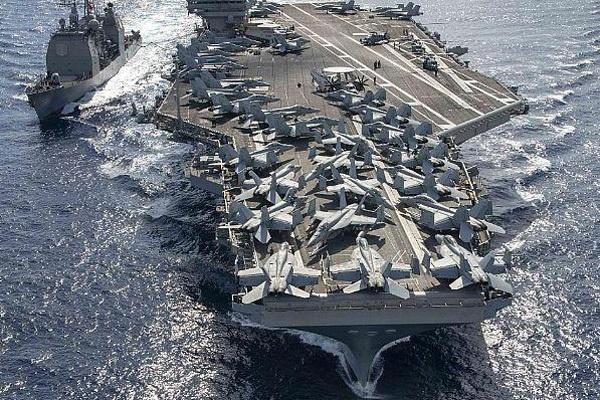 Hải quân Mỹ sẵn sàng 'gây khó' cho Trung Quốc ở Biển Đông