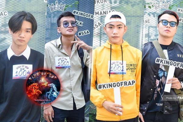 Dàn thí sinh phủ kín vòng casting King Of Rap khu vực TP.HCM: Lộ diện nhiều tài năng sáng giá