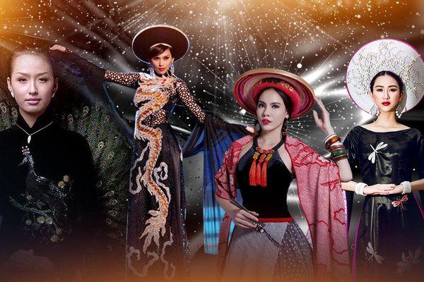 'Chơi lớn' với National Costume sắc đen: Võ Hoàng Yến quyền lực, Mai Phương Thúy lọt Top 17 Miss World
