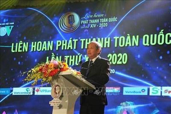 Khai mạc Liên hoan phát thanh toàn quốc lần thứ XIV-2020