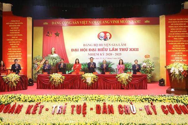 Những kinh nghiệm quý từ các Đại hội điểm của Đảng bộ TP Hà Nội
