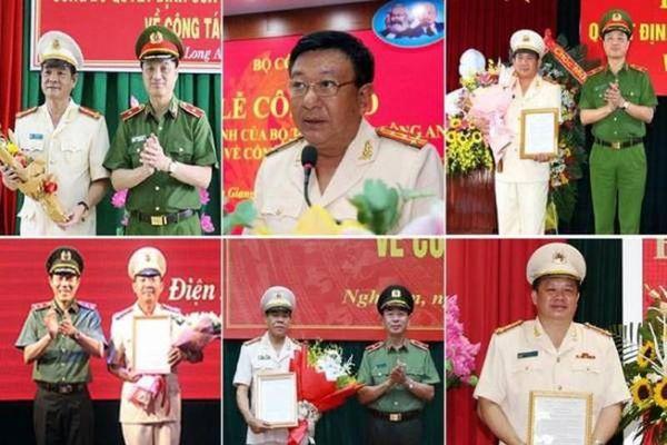 Chân dung 12 đại tá vừa được bổ nhiệm Giám đốc công an tỉnh