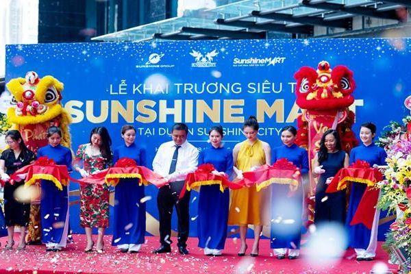 Sunshine Mart khai trương thêm một siêu thị 4.0