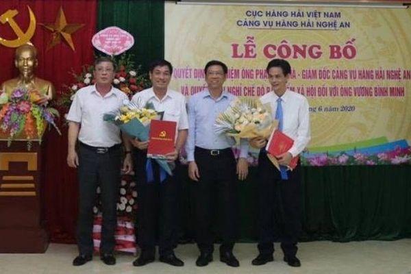 Bổ nhiệm ông Phạm Văn Hà giữ chức giám đốc Cảng vụ hàng hải Nghệ An