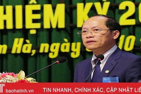 Phó Chủ tịch UBND tỉnh Nguyễn Hồng Lĩnh kiêm Trưởng BQL Khu kinh tế tỉnh Hà Tĩnh
