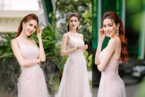Phan Thị Mơ quyến rũ với váy mỏng manh thanh khiết như sương mai