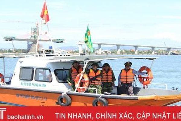 Bộ đội Biên phòng Hà Tĩnh phối hợp bắt giữ 4 tàu cá đánh bắt sai vùng biển quy định
