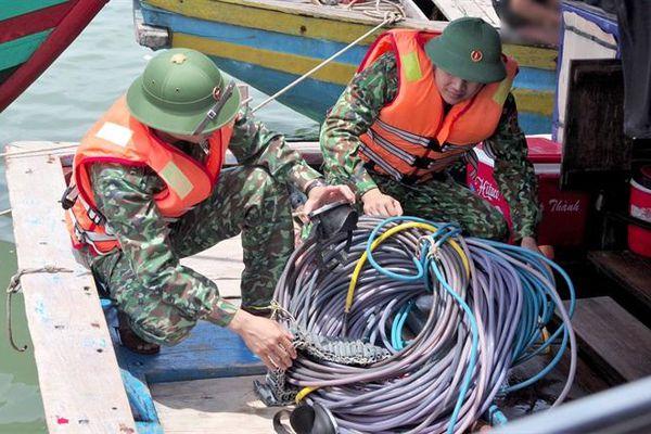 Đẩy lùi hoạt động khai thác hải sản trái phép