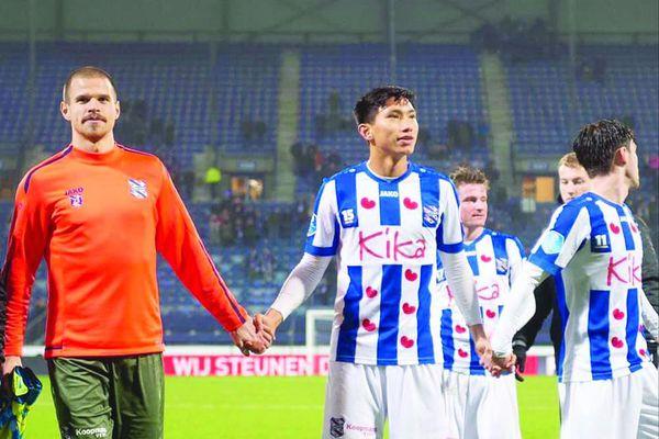 Đoàn Văn Hậu chia tay SC Heerenveen