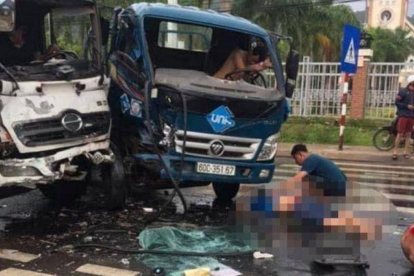 Tai nạn liên hoàn 3 ô tô, nhiều người trên xe bị thương nặng