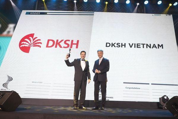 Công ty DKSH Việt Nam được vinh danh là nơi làm việc tốt nhất châu Á 2020