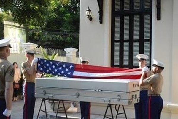 Lễ hồi hương Hài cốt quân nhân Mỹ lần thứ 153