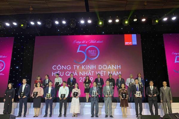 Nam Long vào top trong 50 công ty kinh doanh hiệu quả nhất Việt Nam
