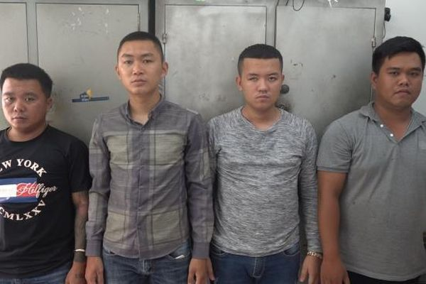 Khánh Hòa: Bắt giữ 4 đối tượng tạt sơn để đòi nợ