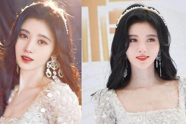 Cúc Tịnh Y hóa công chúa Bạch Tuyết trên thảm đỏ sự kiện Đông Phương Phong Vân Bảng