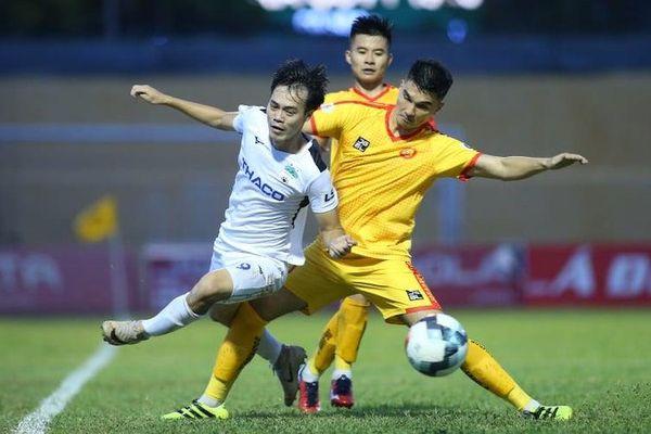 Ba trận hòa liên tiếp ở vòng 11 LS V.League 1-2020