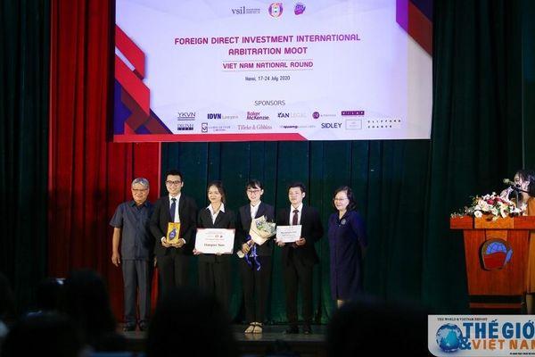FDI Moot 2020 'gọi tên' Đại học Luật Hà Nội và Học viện Ngoại giao