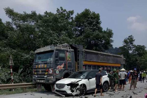 Hòa Bình: Tai nạn giao thông, 1 người tử vong tại chỗ
