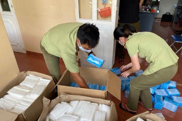 Gia Lai đã tạm giữ gần 18.000 chiếc khẩu trang không rõ nguồn gốc xuất xứ