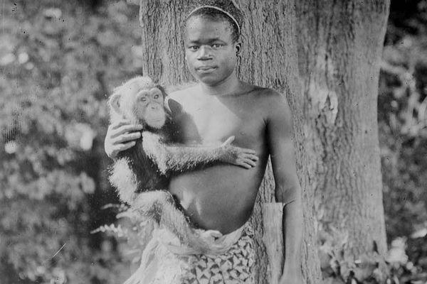 Sở thú xin lỗi vì trưng bày người da màu trong nhà lồng của khỉ