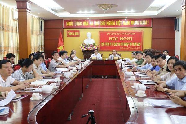 Hà Tĩnh: Chủ động mọi tình huống cho Kỳ thi tốt nghiệp THPT