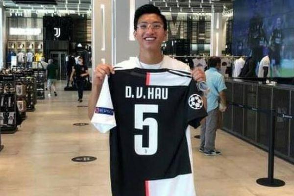 Đoàn Văn Hậu khoác chiếc áo số 5 Juventus
