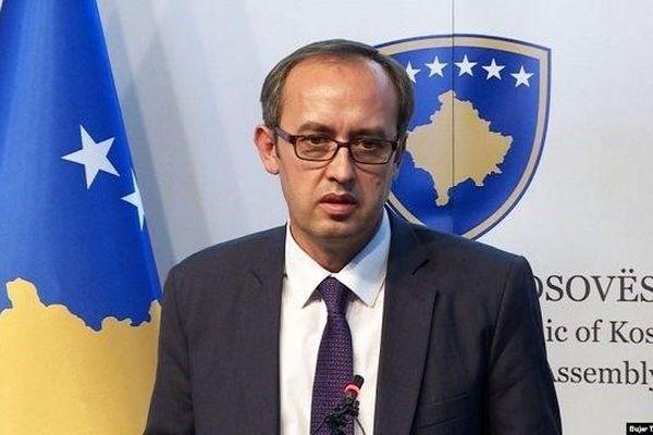 Người đứng đầu chính quyền vùng lãnh thổ Kosovo mắc Covid-19