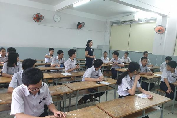 Ninh Thuận: Gần 85% bài thi tuyển sinh vào lớp 10 dưới điểm trung bình