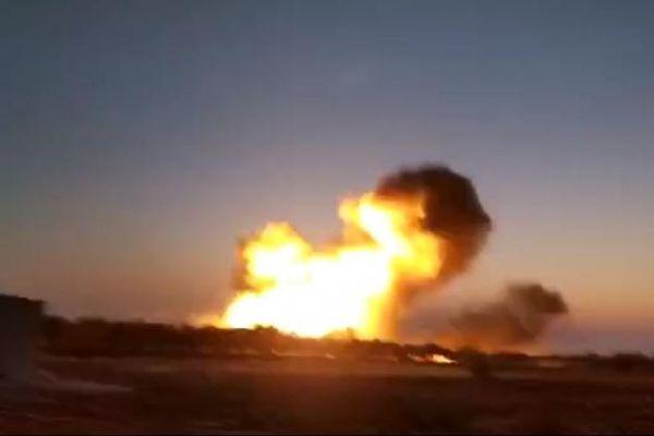 Không quân Nga giáng đòn mạnh vào các tay súng thánh chiến Syria