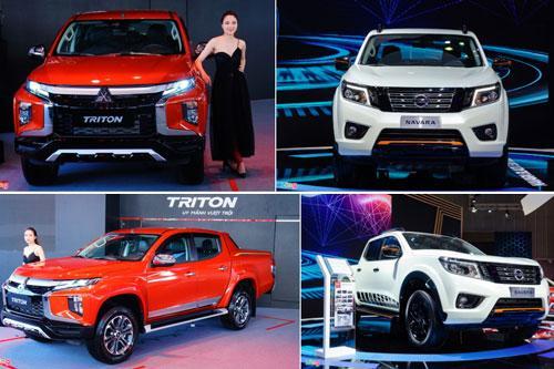 Tầm giá 800 triệu, chọn Mitsubishi Triton hay Nissan Navara?