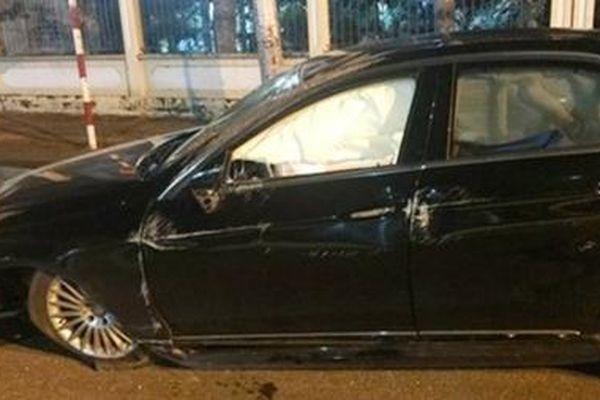 Tài xế gây tai nạn không chịu đo nồng độ cồn rồi bỏ đi