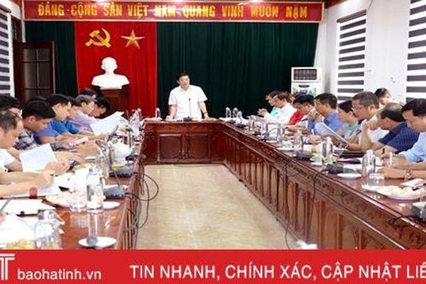 Vũ Quang phấn đấu giải ngân đạt 96% kế hoạch vốn đầu tư công năm 2020