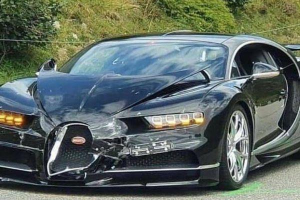 Bugatti Chiron tông vào Porsche 911, thiệt hại hơn 4 triệu USD