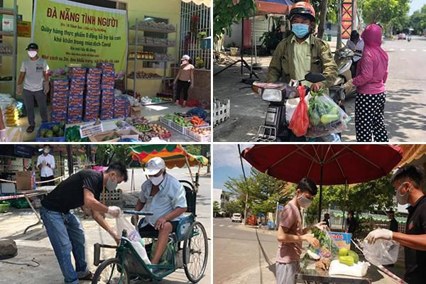 Quầy hàng đặc biệt ở Đà Nẵng: Bán bằng tấm lòng, mua bằng nụ cười