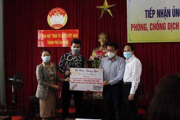 Hơn 4 tỷ đồng hỗ trợ Đà Nẵng chống dịch